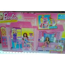 Casa De Férias Da Barbie Com Boneca