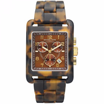 Relógio Michael Kors Mk5497 Tortoise Chronograph Bracelet