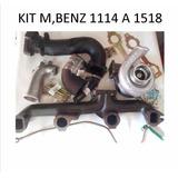 Kit 1114 A 1518 + Turbo Garrett Mercedes Benz 1518