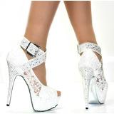 Zapatos De Novia De Encaje Europeo