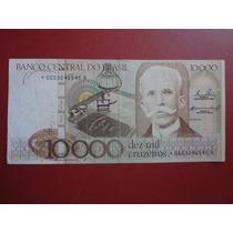 Cédula C 170a Dez Mil Cruzeiros 1984 Asterisco Lote 021