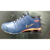 Tênis Nike Shox Nz Infantil 4 Molas Lançamento