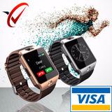 Smartwatch Dz09 Chip / Sd /camara Redes Sociales + Bateria