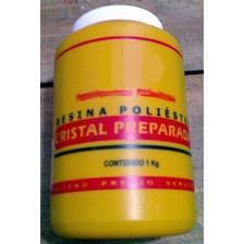 Resina Cristal Preparada Para Vaciados O Encapsulados