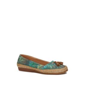 Flat Loafer Mujer Verde 2564647