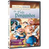 Dvd Disney - Os Três Porquinhos