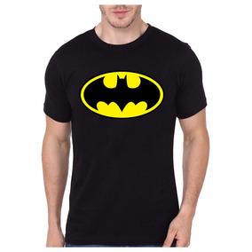 Remera Hombre Batman Logo Superheroes Somos Local Envios