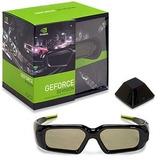 Kit Oculos Nvidia 3d Vision Stereoscopico Com Receptor Novo!