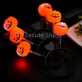 10 Diademas Calabaza Halloween Dia Muertos Disfraz Disfraces