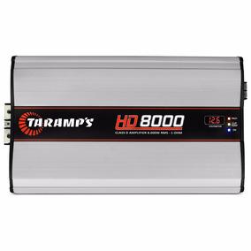 Módulo Taramps Class D Hd8000 1 Ohm 1 Ch 8000w Rms