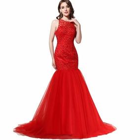 Vestido De Noiva Regata Sereia Tule Várias Cores