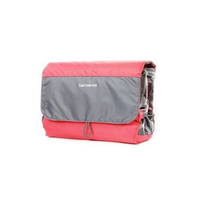 Cartera Samsonite Roll Up Toiletry Kit L / Coral / Gris