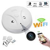 Detector De Fumaça Espião Camera Spy Full Hd 1080p Wifi Iptv