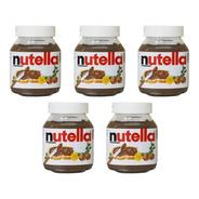 Nutella 350g  05 Pote De Nutella Original