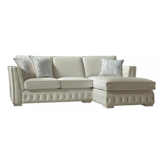 Sillon Sofa Esquinero Neo Chester 270x160 Cm Premiun Arkana