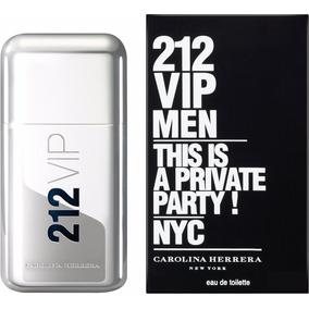 Perfume Carolina Herrera 212 Vip 200 Ml. Imp Hombre Original
