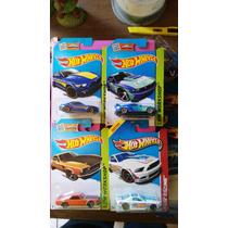 Lote De Mustang De Coleccion Hotwheels Ganalos No Goma Omm