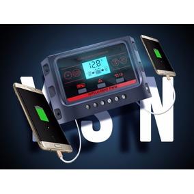 Lcd Pwm Controlador Carga Solar Regulador 30a 12v Usbx2 5v