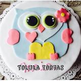 Tortas Decoradas Lechuza León Vaquita