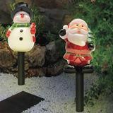 Lámparas Navideñas Santa Y Nieve G-0521