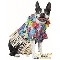 Disfraz Para Perro Traje Del Perro Mascota Tiki Hawaiano Pa