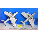 Dante42 Juguete Antiguo Plastico Avion Combate 1970