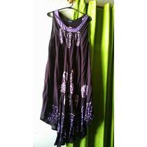 Vestidos Fibrana Estampados Hindú T2xl $ 530