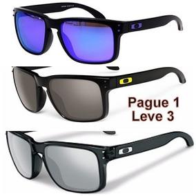 Óculos Hol Masculino Brook Lente Polarizada Pague 1 Leve 3