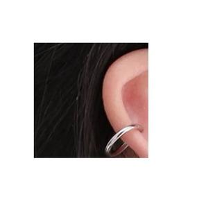 Brinco Pequeno Pressão Argolinha Orelha Piercing Nariz 11mm