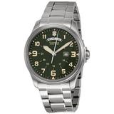 Reloj De Acero Inoxidable Victorinox Swiss Army Hombre 24129