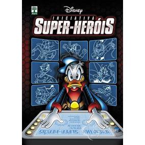 Livro Disney Capa Dura - Iniciativa Super Heróis