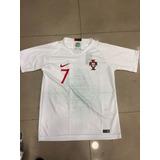 99ec46bd43 Camiseta Titular Portugal Nike Authentic no Mercado Livre Brasil