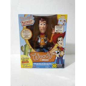 Disney Thinkway Toy Story Woody Interactivo Amigo De Buzz Ms