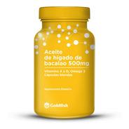 Aceite Higado Bacalao Omega 3 Vit A Y D Caps. X 30 Goldfish