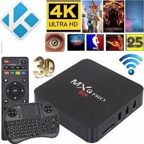 Tv Box Android 4k Smart Tv Wifi High Definition Con Garantia