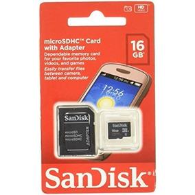 Cartão De Memória Sandisk Micro Sd 16gb Classe 4 A Prova De