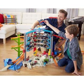 Mega Garagem Hot Wheels Brinquedos Mattel Cmp80