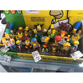 Boneco Simpsons Homer Bart Etc..