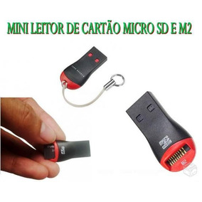 Mini Leitor De Cartão M2 Vira Pen Drive Super Oferta