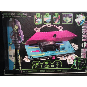 Monster High Laboratorio De Diseño Con Tatuajes