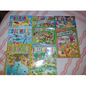 Lote Libros Infantiles Con Pegotines 100 Unidades