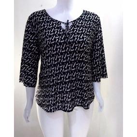 Blusas Feminina Em Liganete Plus Size Fabricação Própria