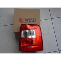 Lanterna Traseira Ecosport 2003 Até 2007 Bicolor Direito