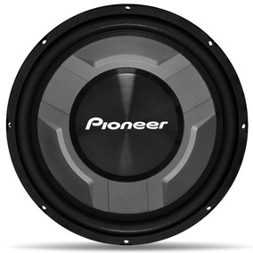 Subwoofer Pioneer Cara Preta Ts-w3060b Alto Falante 350w Rms