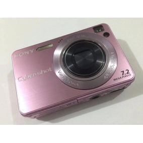 Cámara Digital Sony Cyber-shot Dsc-w120/b, 7.2mp