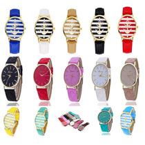 Reloj De Dama De Cuero Variedad