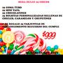 Mesa Dulce Personalizada 25 Chicos Super Oferta $999!!