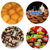 Kit Festa Salgado,bolo,doces Para 50 Pessoas À Domicílio Sp