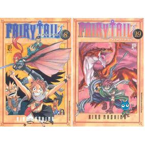Lote Mangá Fairy Tail Jbc 27 Volumes