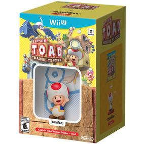 Captain Toad Treasure Tracker + Toad Amiibo - Wii U Lacrado